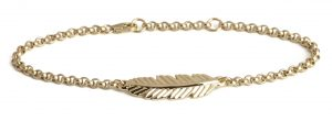 Muru Feather bracelet from Sophisticato.uk