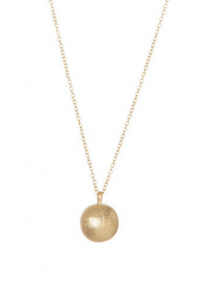 Gold Patina Ball Pendant by Mark Watson