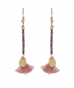 Mark Watson Sandra Long Tassel Earrings
