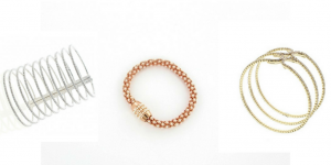 Sparkly bracelets by Nour London available et Sophisticato.uk